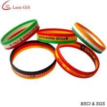 Горячие Продажа силиконовый браслет Спорт силиконовый браслет (LM1636)