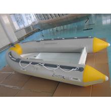 Barco inflável rígido casco de alumínio