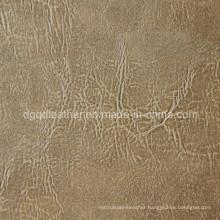 Fashion Design Breathable PU Furniture Leather (QDL-FB0038)