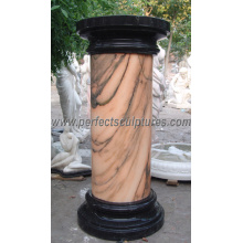 Stone Marble Granite Sandstone Hollow Roman Columns (QCM041)