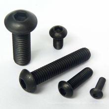furniture hardware carbon steel hex button screw