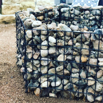 PVC Galvanized Welded Gabion Garden Mesh Wall