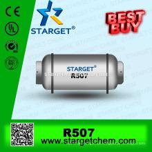 Melhor qualidade HFC mistura NOVO ar condicionado r507 gás