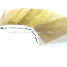60 70 90 100 Mesh Typing Paper Papel de impresión Latón Wire Papermaking cloth