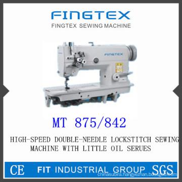 High Speed Double Needle Lockstitch Sewing Machine (875/842)