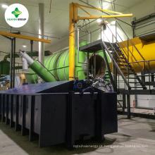 PP / PE / PS Sucata de plástico máquina de reciclagem de petróleo bruto