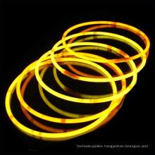 yellow glow stick necklace