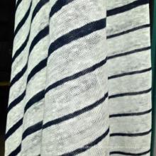 Linho malha Jersey para t-shirt ou camisa pólo (QF14-1545-BS)