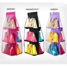 Hohe Qualität PVC und No-Woven hängende faltbare Taschen-Organisator