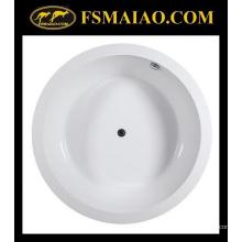 Salle de bain Baignoire acrylique ronde simple acrylique (BA-8807)