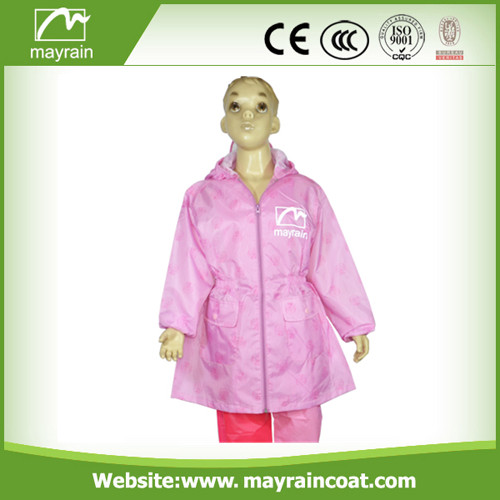 Breathable Polyester Kid' s Raincoat