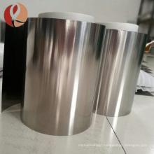 shape memory alloy high temp rolled niti strip nitinol foil sheet