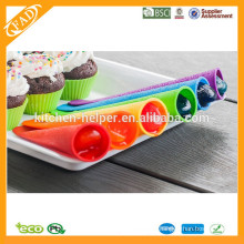 BPA Free Popsicle Molds Venta al por mayor / Silicona Set Molde Popsicle / Food Grade Silicona Set Molde Popsicle