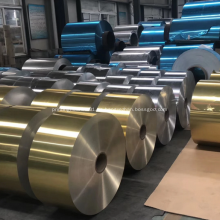 Rollo de bobina de aluminio recubierto de epoxi para productos farmacéuticos