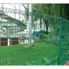 ПВХ двойной круг отделе забор с высоким качеством (ТС-J34)
