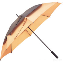 Manual Open Double Layers Straight Umbrella (BD-18)