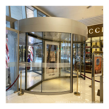 Factory Direct High Quality Smart 3 Wings Automatic Revolving Door for Hotel