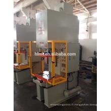 Presse de châssis C, colonne simple Essorage presse hydraulique avec test de pression