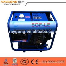 3KW 6HP diesel generator, kompetitive Mini einzigen zylinder luftgekühlten 3kw Dieselaggregat