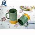Großhandelspreis Bunt glasierter kundenspezifischer Keramikbecher