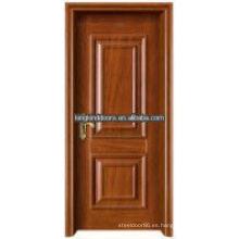 Transferencia de calor Interior de madera puerta Rey-01 con marco de acero