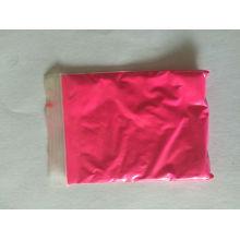 Pó de pigmento fotoluminescente com cor rosa