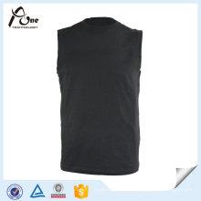 Без рукавов Свободная спортивная одежда оптом Спортивная мужская футболка