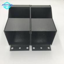 grey powder coated sheet metal box fabrication