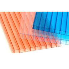 Hoja de PC de policarbonato Hoja Multiwall 2-Wall Sheet Greenhouse