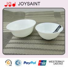 Werbeartikel Einfache Abziehbilder Opal Gläser Reis Schüssel Salat Schüssel für den Hausgebrauch