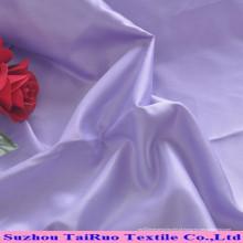 Fabricação Oeko-Tex padrão New Style tecido de cetim para vestido de noiva
