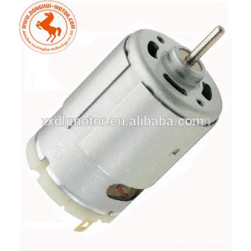 Moteur à courant continu à haute vitesse 24V pour pompe à air, mini moteur électrique à courant continu pour pompe à air (RS-540SA)