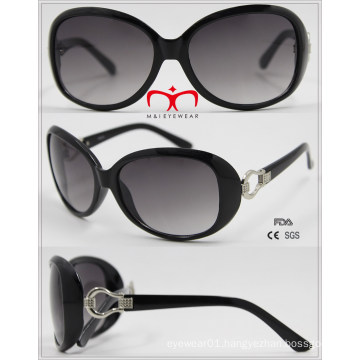 Fashionable UV400 Protection Ladies Sunglasses with Metal Decoration (WSP601540)