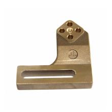 Custom micro fabrication cnc lathe turning machining copper bronze brass parts