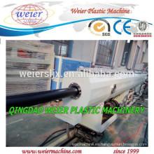 110MM HDPE extrusión máquina tubería
