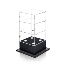Modern Perspex Display Box for Jewellery Exhibit, Clear Acrylic Display