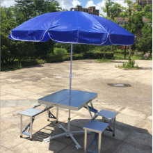 Modern Stylish Outdoor Aluminum Alloy Portable Folding Tables and Chairs