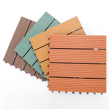 wpc outdoor interlocking composite deck tiles