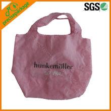 bolsa de poliéster reciclado promocional para ir de compras
