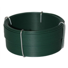 Alta Qualidade Verde PVC Coated Wire