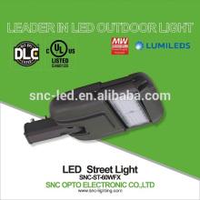 60w conduziu a luz de rua com fotocélula, lâmpada de rua conduzida exterior conduzida, ul luz de rua de 60 watts conduzida