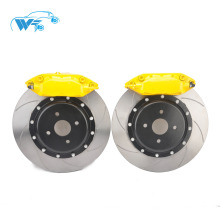 Boa qualidade alumínio forjado paquímetro para hyundai sotaque 17Rim WT-f40 frente 4 pinças de freio a pistão