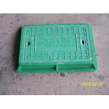 Крышка люка из стеклопластика 330x520 A50 для счетчика воды