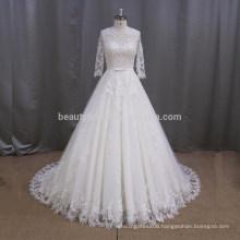 AK003 Western royal lace wholesale turkey wedding dress bridal gown 2017