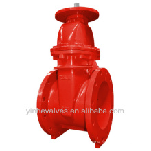 FM UL Approved Resilient Seated NRS Type Flanged Ends Gate Valve