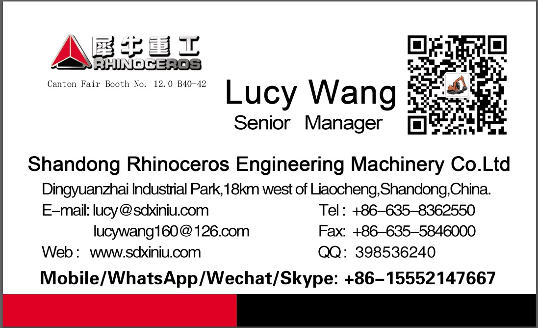 Lucy Wang Name Card