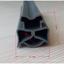 Tiras flexíveis do selo da borracha de silicone do produto comestível