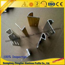 Perfil de alumínio da guarnição de Listello da fonte da fábrica para a decoração de Buliding