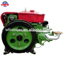China Dieselmotor mit starker Kraft und kleinem MOQ-Elektrostart-Einzylindermotor