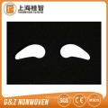 máscara de olho cosmética não tecida fornecimento de máscara de olho de algodão orgânico